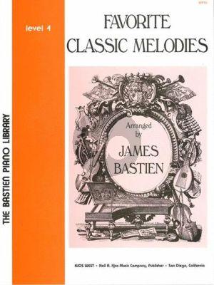 Bastien Favorite Classic Melodies Level 4 Piano