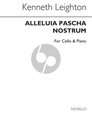 Leighton Alleluia Pascha Nostrum Op. 85 Violoncello and Piano