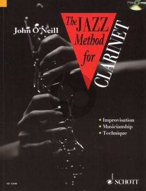 O'Neill Jazz Method for Clarinet Bk-Cd