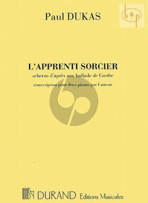 L'Apprenti Sorcier 2 Pianos 4 Hds