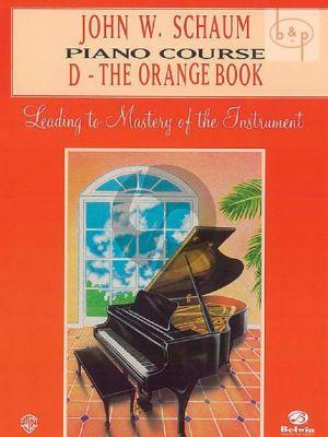 Piano Course Book D The Orange Book