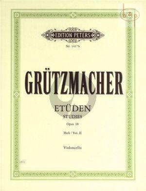 Etuden Op.38 Vol.2 Violoncello