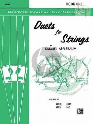 Duets for Strings Vol.1 (2 Violonellos)