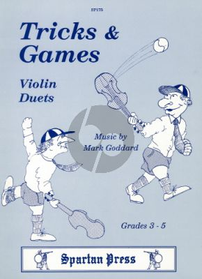 Goddard Tricks & Games for 2 Violins