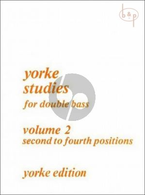 Yorke Studies Vol.2 for Double Bass