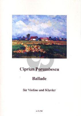 Porumbescu Ballade Violine-Klavier