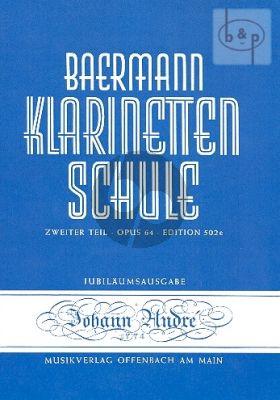 Klarinettenschule Band 5 Teil 2 Op.64