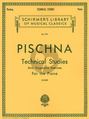 Technical Studies (60 Progressive Exercises) Piano