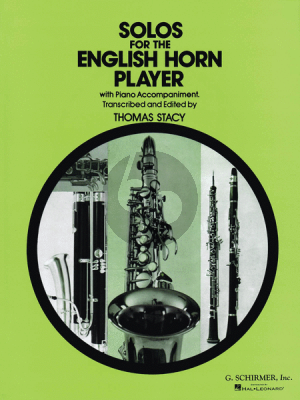Solos for the English Horn Player (Thomas Stacy)