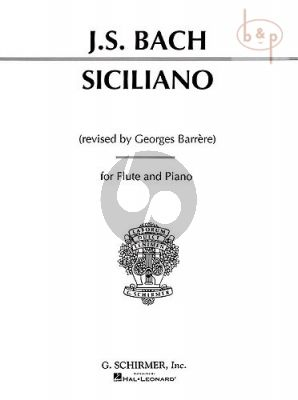 Siciliano Flute and Piano