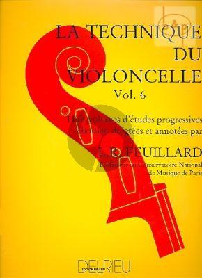 Technique du Violoncelle Vol.6