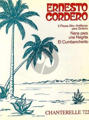 Cordero 2 Piezas Afro Antillanas for Guitar