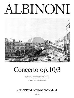 Concerto C-dur Op.10 / 3 Violine-Streicher-Bc