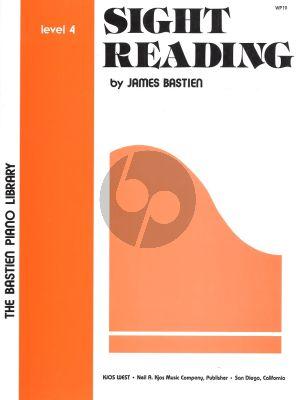 James Bastien Sight Reading level 4 piano