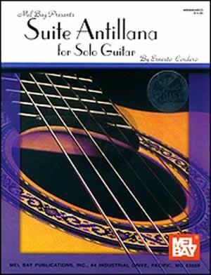 Cordero Suite Antillana for Guitar (Bk-Cd)