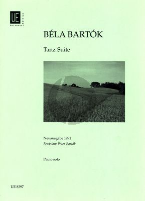 Bartok Dance-Suite Piano