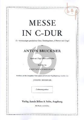 Messe C-dur (Mixed Choir-String Quintet- 2 Horns-Organ)