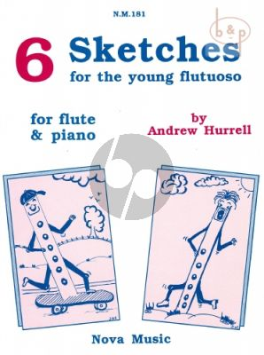6 Sketches for the Young Flutuoso
