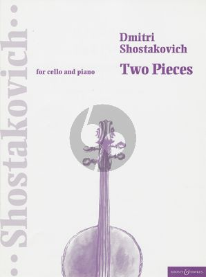 2 Pieces (Adagio & Fruhlingswalzer) Violoncello-Piano