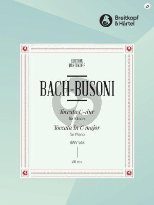 Bach Toccata C-major BWV 564 Piano (Arranged by Ferruccio Busoni)