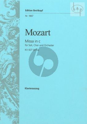 Missa c-minor KV 427[417a] (Soli-Choir-Orch.)