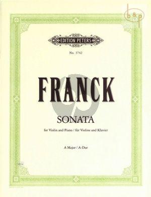 Sonate A-dur Violine und Klavier