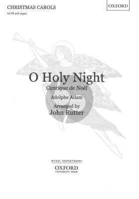 O Holy Night SATB-organ (arr. John Rutter)