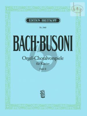 Bach Orgel-Choralvorspiele Vol.2 Piano solo