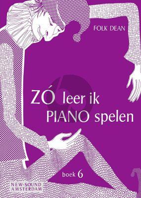Zo leer ik Piano Spelen Vol. 6