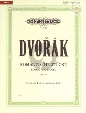 Romantische Stücke Op.75 Violin-Piano