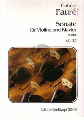 Sonata No.1 A-major Op.13
