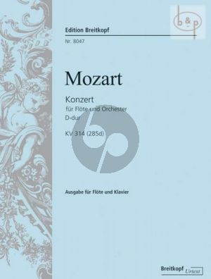 Konzert D-dur KV 314 (285d) (Hendrik Wiese)