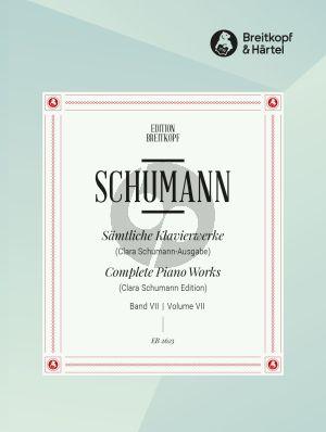 Schumann Klavierwerke Vol. 7 (Clara Schumann) (herausgegeben von Wilhelm Kempf)