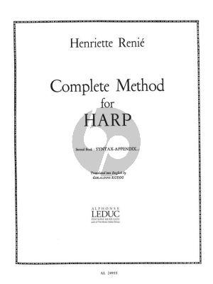 Renie Methode Complete Vol.2 pour Harpe (anglais)
