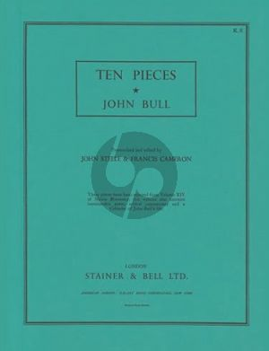 Bull 10 Pieces from Musica Britannica Harpsichord (John Steele and Francis Cameron)