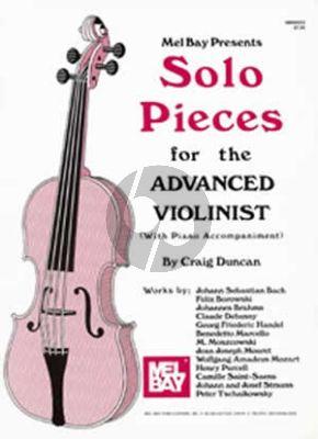 Solo Pieces Advanced Violinist Violin-Piano