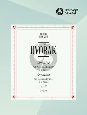 Dvorak Sonatine G-dur Op.100 Violine und Klavier