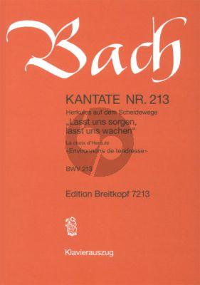 Kantate No.213 BWV 213 - Lasst uns sorgen, lasst uns wachen (Herkules auf dem Scheidewege)