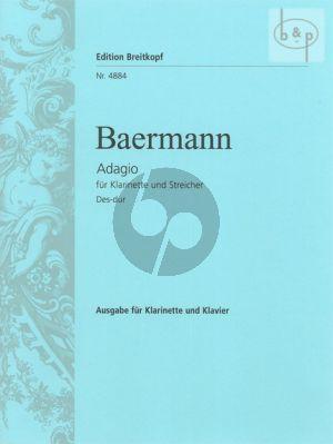 Adagio Des-dur Clarinet-Piano