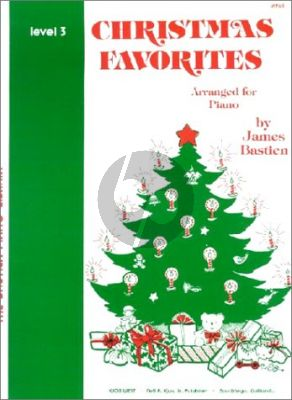Bastien Christmas Favorites Level 3 Piano