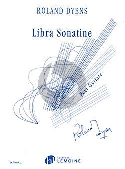 Dyens Libra Sonatine pour Guitare