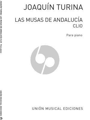 Turina Las Musas de Andalucia Op.93 No.1 Clio - A Las Puertas De La Rabida Piano solo
