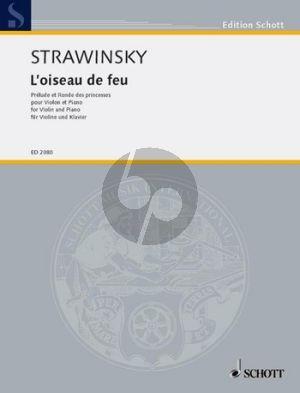 Strawinsky  L'Oiseau du Feu - Prelude et Ronde des Princesses