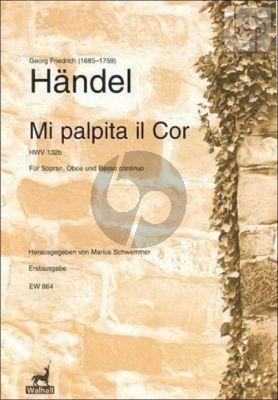 Mi Palpita il Cor HWV 132b Soprano-Oboe-Bc