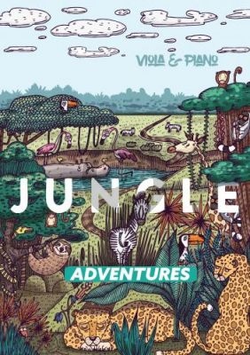 Baker Jungle Adventures for Viola and Piano