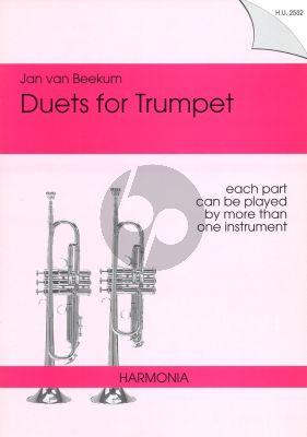 Beekum Duets for Trumpet