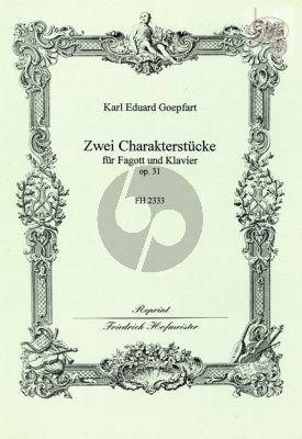 2 Charakterstucke Op.31