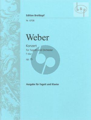 Konzert F-dur Op.75 J.127 (Bassoon-Orch.)
