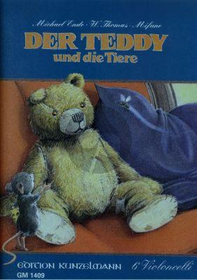 Der Teddy und die Tiere (6 Vc.) (Score/Parts)