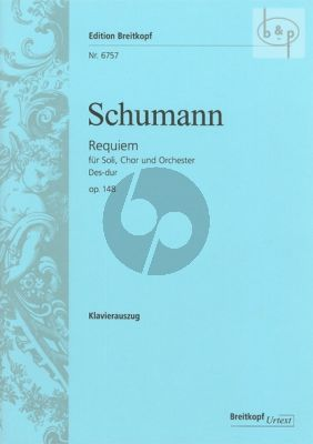 Requiem Des-dur Op.148 (Soli[SATB]-Choir[SATB]- Orch.) (Vocal Score)